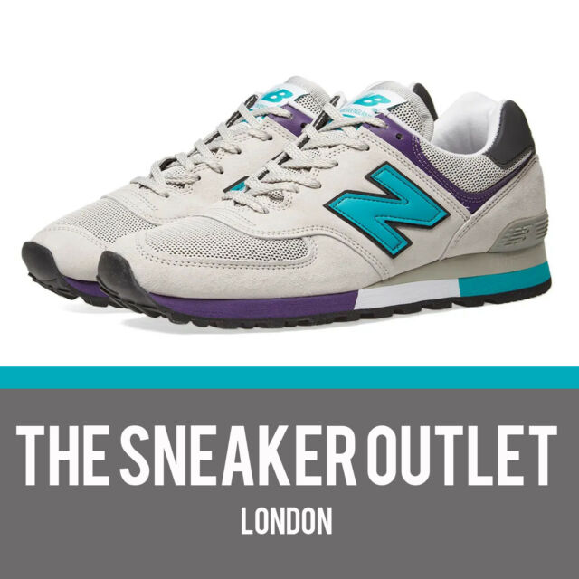 Mens NEW Balance 576 GPM Suede Trainers