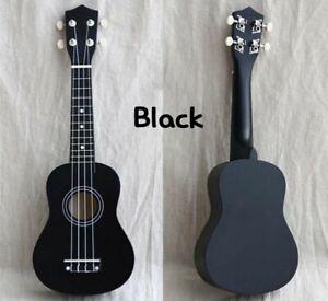 Guitar Combo Ukulele Soprano Basswood 12 Frets 4 Strings Musical Instruments Ebay