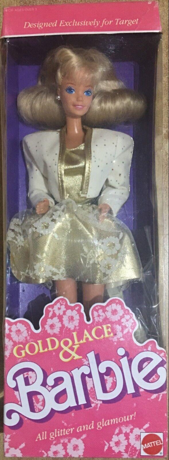 Barbie Mattel Gold&Lace Exclusive FoR Target Vintage 89'