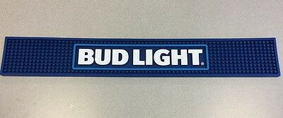 bud light new logo bar mat and bud light taphandle..free shipping