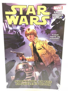 Star-Wars-Vol-2-Showdown-On-The-Smuggler-039-s-Moon-Marvel-Comics-New-TPB-Paperback