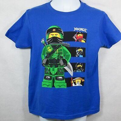 Lego Ninjago Boys T-Shirt Blue Lloyd Kai