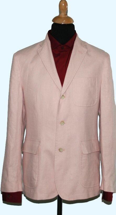 Polo por tamaño de lino chaqueta de Ralph Lauren   54 (44 R) nuevo  ventas directas de fábrica