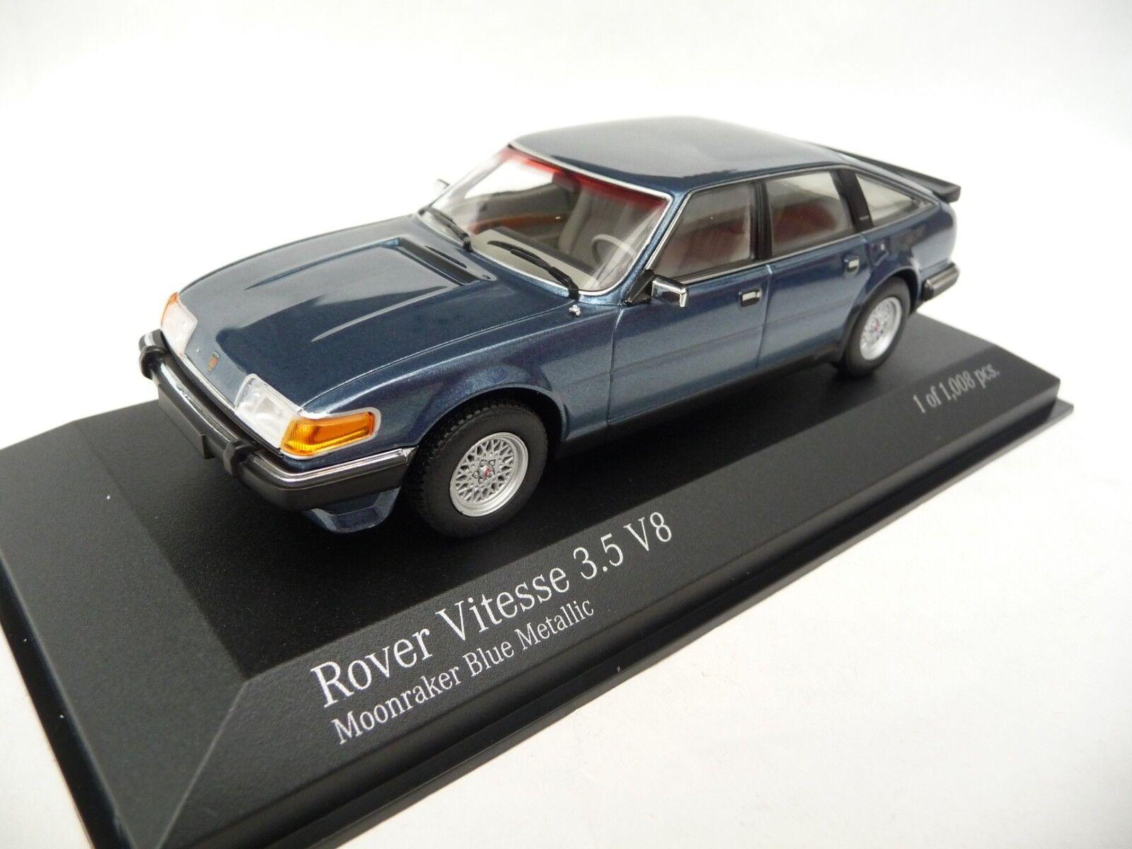 Minichamps 1 43 Rover Vitesse 3.5 V8 1986 bleu métallisé 138501