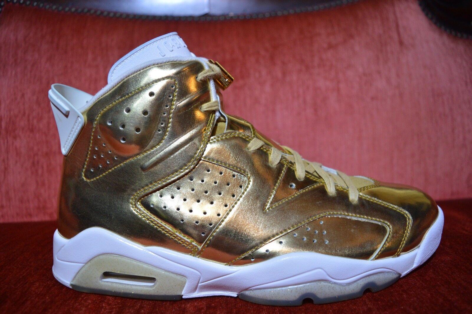 2x nike air jordan consumate 6 vi centro d'oro metallico 854271730 taglia 10 d'oro centro 606baa