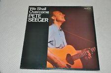 Pete Seeger - We schall overcome - Amiga 60er - Album Vinyl Schallplatte LP