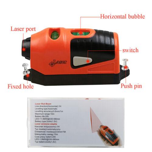 Laser Level Guide Leveler Gerade Projektlinie Wasserwaage Werkzeug hängen PicUE