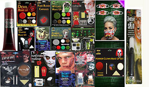 New-Halloween-Face-Paint-Make-Up-Kit-Vampire-Zombie-Devil-Witch-Blood-Scar-Set