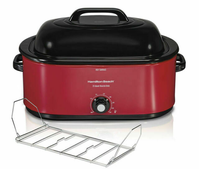 Hamilton Beach 32231 28 LB Turkey Roast Oven - Red