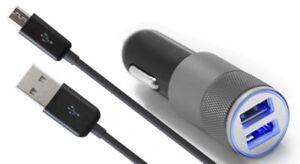 MMOBIEL-Set-di-ricarica-auto-inclusi-USB-cavo-Micro-USB-3-2-ft-1m-Nero-W3W