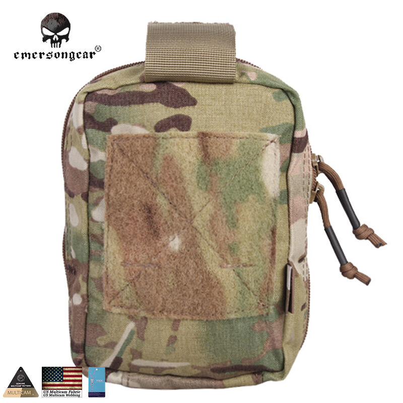 EMERSON Airsoft Medic Pouch EG Style EI First Aid Kit Pouch Molle Medic Bag Gear