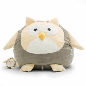 Details About Owl Bean Bag Chair Kids Toddler Cuddle Animal Toy Play Ride Home Bedroom Seat