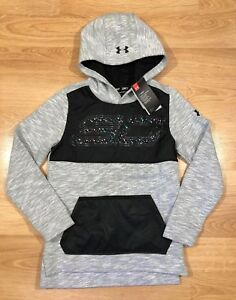 size 40 12ffe 1ff9e Details about Boys UNDER ARMOUR Hoodie YMD Loose Stephen Curry Cold Gear  NEW!!