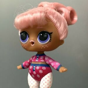 Lol-Surprise-Dolls-SNOW-BUNNY-Series-5-HAIR-GOALS-Authentic-toy-Color-changed