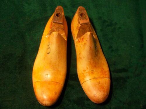 Pair Vintage Maple Wood Size 9 D #D85 GEBL Co Shoe Cobbler Factory  Last #768