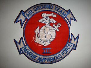 Usmc-Patch-Air-Sol-Equipe-III-Marine-Amphibie-Force