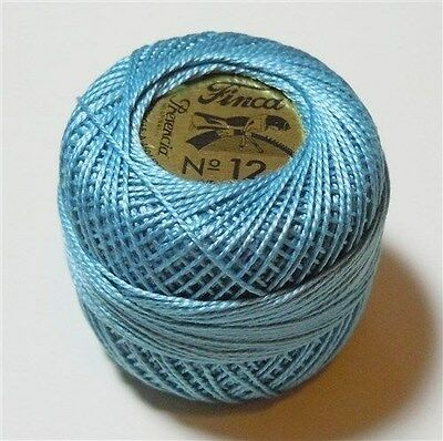 Presencia Finca Perle Cotton Ball Size 12 #3560 5g 58 yds