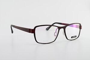 JOSHI-Brille-Mod-918-Col-4-53-18-140-AL-Titan-Eyeglasses-Frame-Wine-NEW