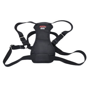 Easy Rider ADJUSTABLE DOG CAR/WALKING HARNESS 5 Sizes to chose from BLACK