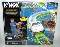 K'nex Typhoon Frenzy Roller Coaster 649 Piece Building Set - 32 Tall - Nidb