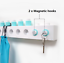 Creative DIY Magnetic block hooks Modern Key bag scarf hanger holder Fashion NEW