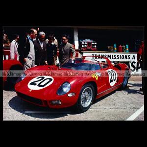 #pha.014108 Photo FERRARI 275 P 24H DU MANS 1964 GUICHET-VACCARELLA Car Auto LyEsESDq-09111519-214985288