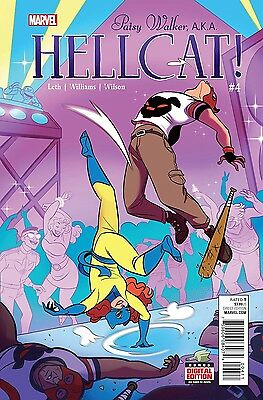 PATSY WALKER AKA HELLCAT #7 Marvel NM Comic Vault 35