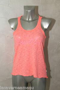 LE-TEMPS-DES-CERISES-bonito-camiseta-camiseta-de-tirantes-rosa-talla-S