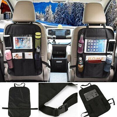CAR VAN BACK SEAT TIDY TRAVEL STORAGE SEATBACK HOLDER ORGANISER BAG KIDS TOYS
