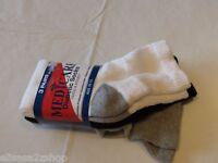 Med Care Diabetic Socks Casual Athletic Circulation Sensitive Feet 3 Pack Multi