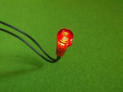 Glimmlampe Rot 230V Signallampe Kontroll-Lampe Signlalleuchte 6mm  230V