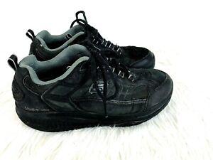 timeless design 08bc0 b5f60 Image is loading Skechers-Shape-Ups-size-8-Mens-Shoes-Black-