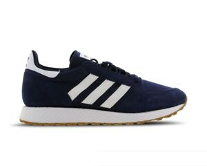 Grove bianche gomma ginnastica Scarpe ginnastica B41529 Adidas da blu Scarpe da classiche Forest XwpBUxqw