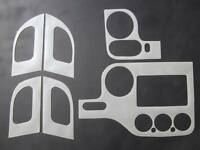 2003-2006 Ford Expedition Xlt 2wd Dash Trim Kit Overlay Brushed Aluminum 6 Pc