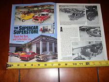 BOYD CODDINGTON - SUPERCAR SUPERSTORE - ORIGINAL 1997 ARTICLE