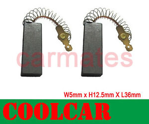 Motor Carbon Brushes For BOSCH WFF 2070 WFG 1870 Berlina 1200 WFH 100