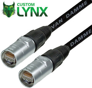 UTP-Cat5e-Neutrik-Ethercon-Lead-Van-Damme-Tourcat-Cable-NE8MC-1-RJ45-Unshielded