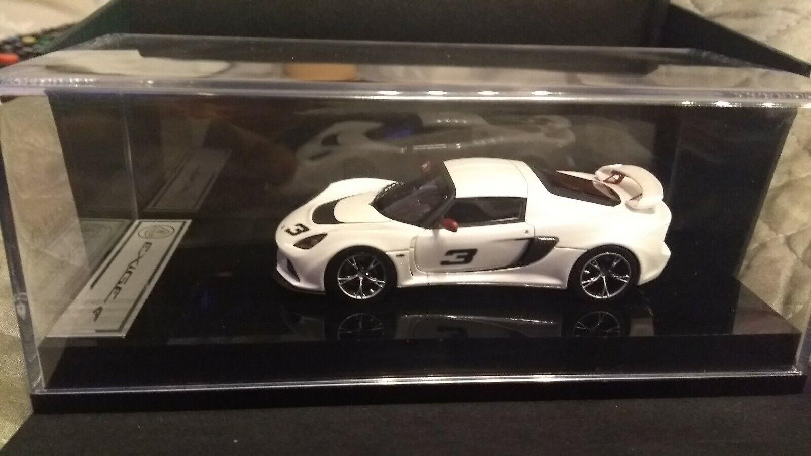Lotus Exige V6 1 43 Escala Modelo Distribuidor Oficial Lotus