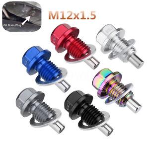 M12X1-5MM-MOTORE-MAGNETICO-DI-SCARICO-COPPA-DELL-039-OLIO-FILTRO-VITE-PAN