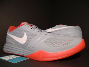 reputable site 80ebe 3b5d0 Image is loading NIKE-KB-MENTALITY-KOBE-AD-NEMESIS-DOVE-GREY-