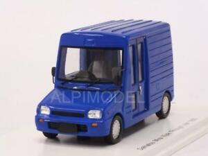Daihatsu Mira Promenade dans Van 1992 Blue 1:43 Spark Sj043