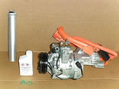 BuyAutoParts 60-88761R2 New For Honda Civic 2006 2007 2008 2009 2010 2011 AC Compressor w//A//C Drier
