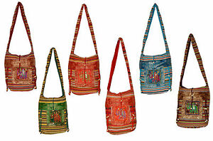 10-Cotton-Ethnic-Embroidered-Elephant-Mirror-Work-Style-Tote-Wholesale-Lot-Bags