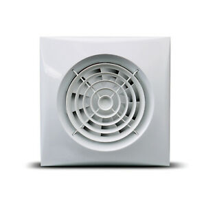 Bathroom Shower Extractor Fan Silent Quiet Low Noise Timer ...