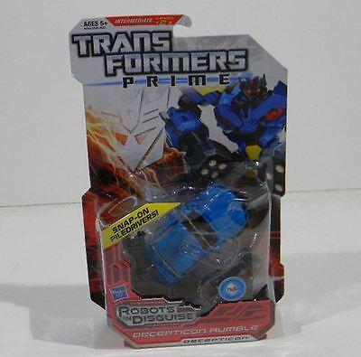 Transformers Prime Decepticon Rumble RID Deluxe class 2012 figure