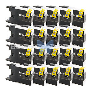 20-BLACK-LC71-LC75-Compatible-Ink-Cartridge-for-Brother-LC75BK-HIGH-YIELD-LC71BK
