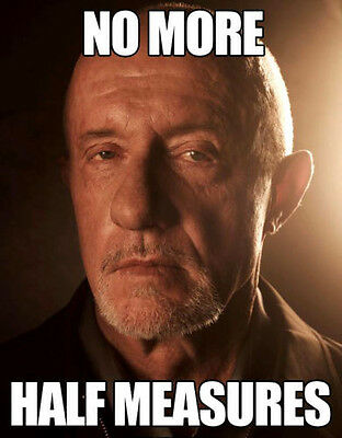 "Breaking Bad Mike Ehrmantraut 11 X 14"" Photo Print"