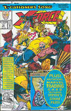X-Force # 16 (with trading card, 'X-Cutioner's Song' part 4) (USA, 1992)