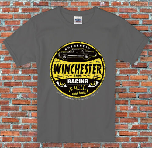 Winchester Bros Racing Supernatural Inspired T Shirt S M L XL 2XL