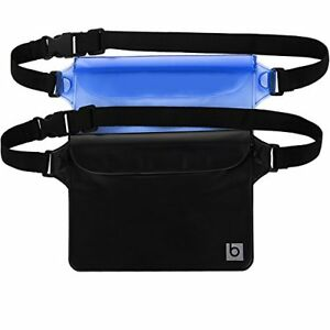 52113247958 Image is loading Waterproof-Beach-Travel-Camping-Pouch-with-Waist-Strap-